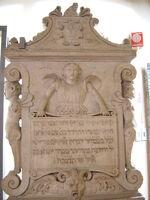 Bologna, Museo medievale -Lapide ebraica del sec. XVI - Foto Giovanni Dall'Orto 8-Feb-2003 03