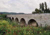 Valley train jalame bridge