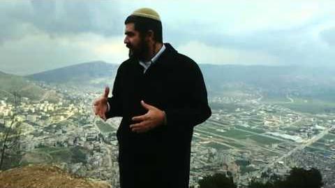 David_Ha'ivri_on_Mount_Gerizim_the_mount_of_Blessing_part_1