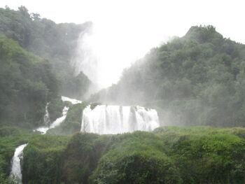 La cascada dell marmora 2009 a