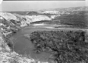נהר הירדן - מראה.-JNF045704