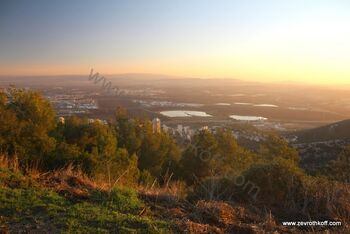תצפית לעמק יזרעאל ולגליל