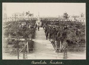 Beersheba gardens, 1917