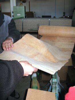 Sughero production