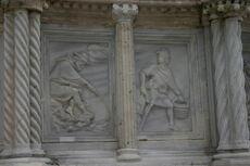 Perugia - Fontana Maggiore - 1 - Mesi - 02 - Febbraio - Foto G DallOrto 5 ago 2006