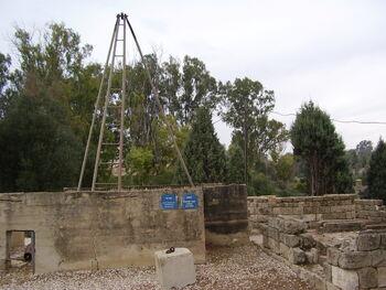 הבאר (1913) באתר הראשונים בנגב ברוחמה