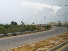 Allenby Bridge(King Hussein Bridge) 2009