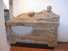 Sala di sarcofagi