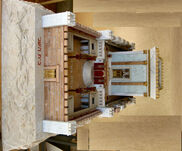 Model of Temple Osnis