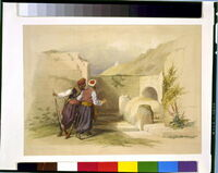 Tomb of Joseph at Shechem 1839