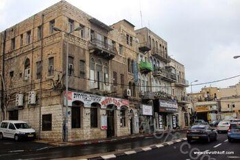 מבנה עותמני בכיכר פאריז