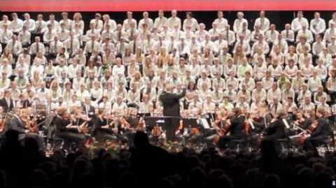 (HD) Verdi - Aida - Triumphal March - Lund International Choral Festival 2010