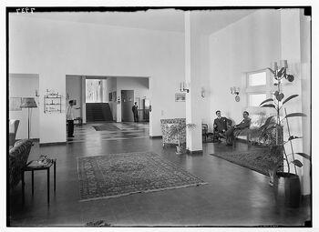 Dead Sea Kallia Hotel lobby 1 1934 LOC