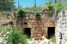 Tomb of Yiahai and Ruth new Excavations could be an ancient synagogue1