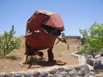 PikiWiki Israel 20206 Sculpture by Joop de Jong on Mt. Bental Golan Hei