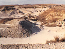 Sulfur Quarry of Beeri 1980 06