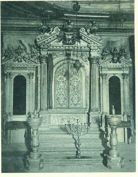 Venice, Scuola Grande. the Ark and two Chairs