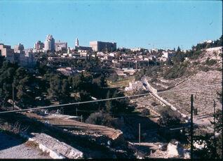 View to gey ben inom and New Jerusalem