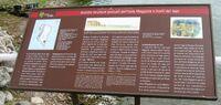 Antiche strutture portuali dell'Isola Maggiore e livelo del lago 1
