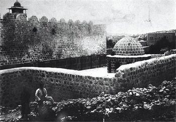 חברון - מערת המכפלה-JNF038935 1930