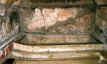 Herculaneum Terme Urbane Caldarium Femminile