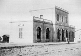 Jafa Station1891 Liesel