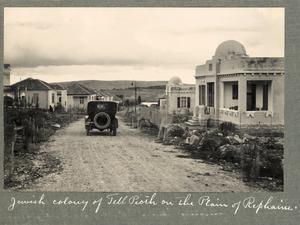 Jewish colony of Talpiot on Plain of Rephaim