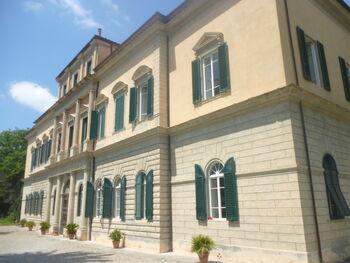 Orto Botanico di Pisa the main building