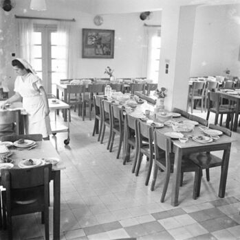 בית מרגוע נוה הלל בבני ברק, קופת חולים, חדר אוכל-ZKlugerPhotos-00132nv-0907170685133ddd
