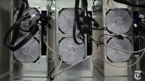 A Bitcoin Mining Setup in Iceland - 2013