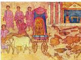 אֲרוֹן ה' בִּשְׂדֵ֥ה פְלִשְׁתִּ֖ים ספר שמואל א' פרקים ה-ו