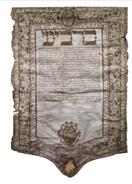 La prima nota ketubbà decorata di Roma 1612