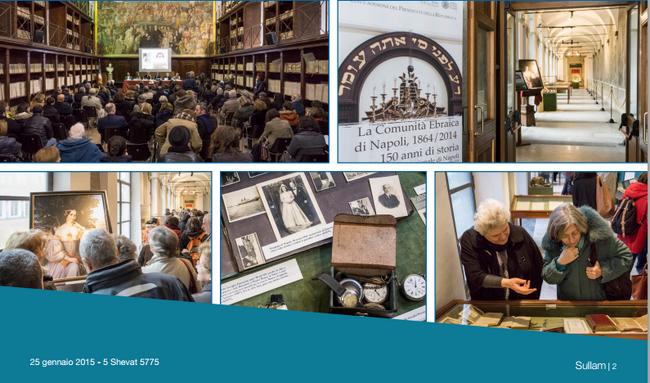 תמונות מן התערוכה ל150 שנה חיהדות נפולי 1