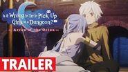 Trailer officiel Danmachi - Arrow of the Orion -