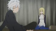 Bell and Aiz Anime 3