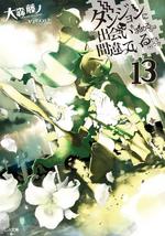 DanMachi Light Novel Volume 13 Cover