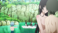 Bathing Scene Anime