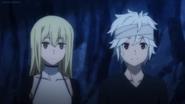 Bell and Aiz Anime 5