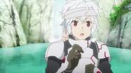 Bell and Aiz Anime 6