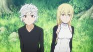 Bell and Aiz Anime 4