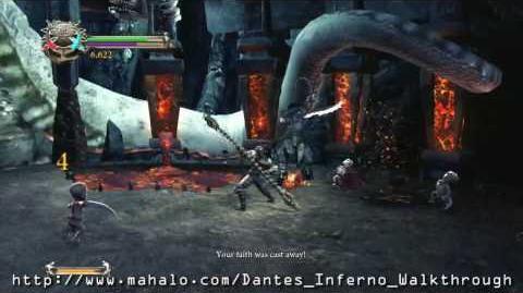 Dante's Inferno Walkthrough - Chapter 2 King Minos Boss Fight