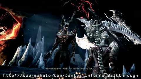 Dante's Inferno Walkthrough - Chapter 10 Lucifer Boss Fight Part 2