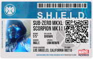 Shield id badge copy