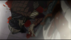 Saladin's death by Dante in the anime.