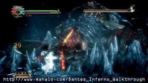 Dante's Inferno Walkthrough - Chapter 10 Lucifer Boss Fight Part 1