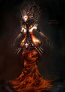 Beatrice as Queen of Hell 001