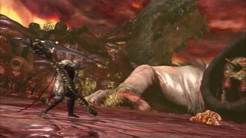 Dante's Inferno - Circle of Gluttony Boss Cerberus