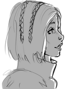 Solona sketch portrait
