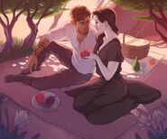 Persephone and Rylen by commandermorgan
