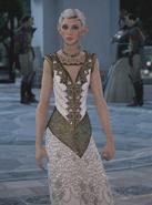 Tara with wedding gown alt at Halamshiral 01